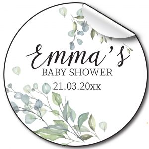 personalised-baby-shower-stickers-pale-floral