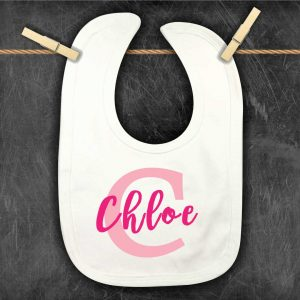 Baby-Bibs-large-Initial-personalised