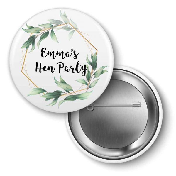 Hen-party-badges-floral green