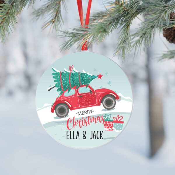 Personalised-Christmas-Bauble-Xmas-decoration-christmas-tree-on-car